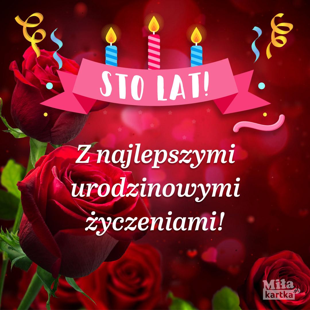 Z najlepszymi życzeniami urodzinowymi.