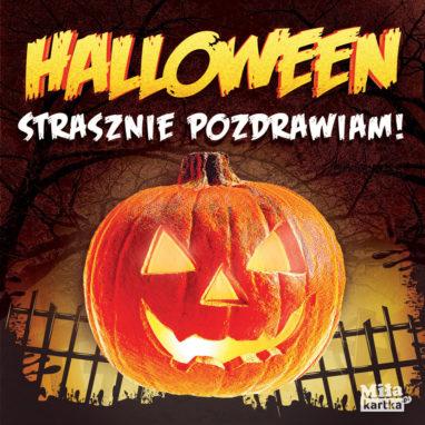 kartki swiąteczne halloween