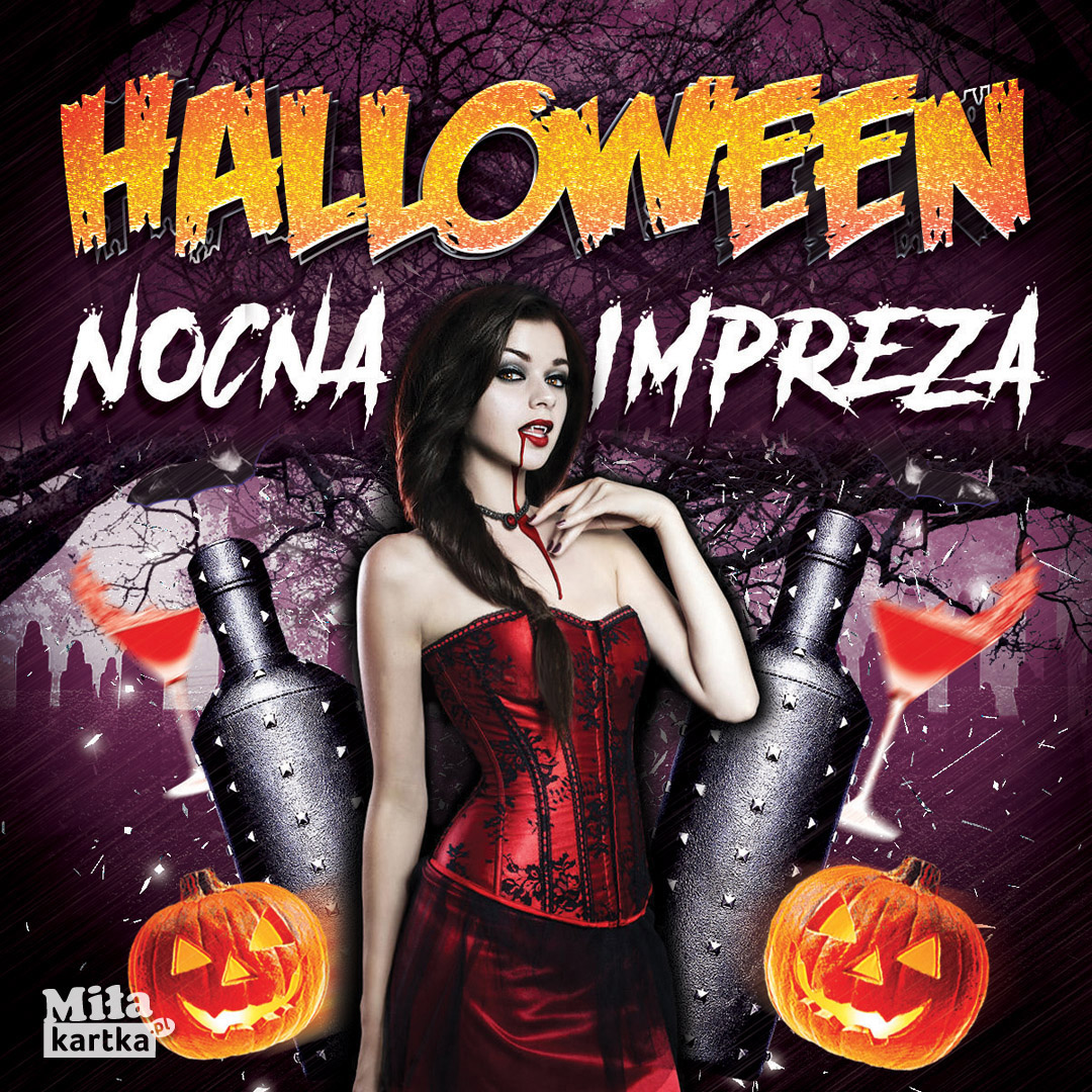 Nocna Impreza Halloween!