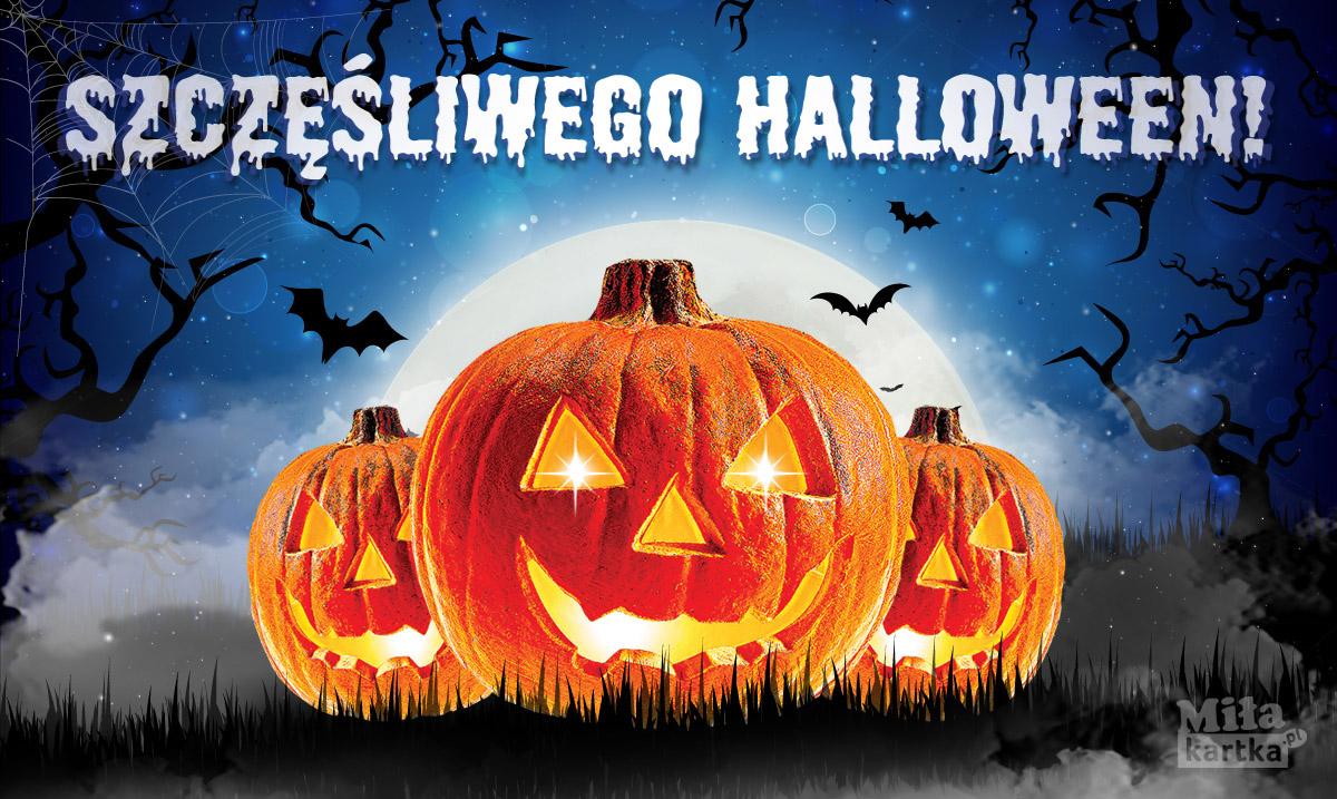Halloween! Strasznie pozdrawiam.