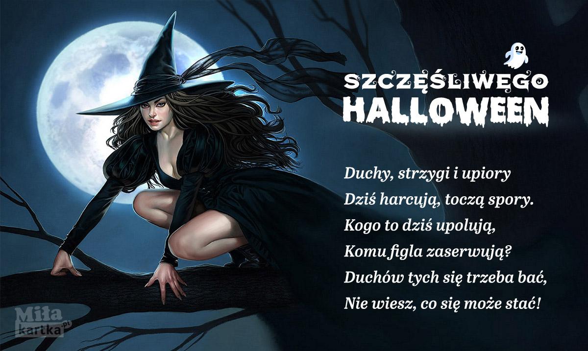 Czarownica Halloween.