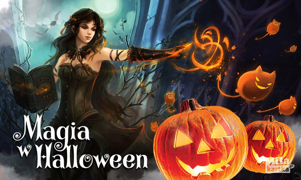 Magia w Halloween