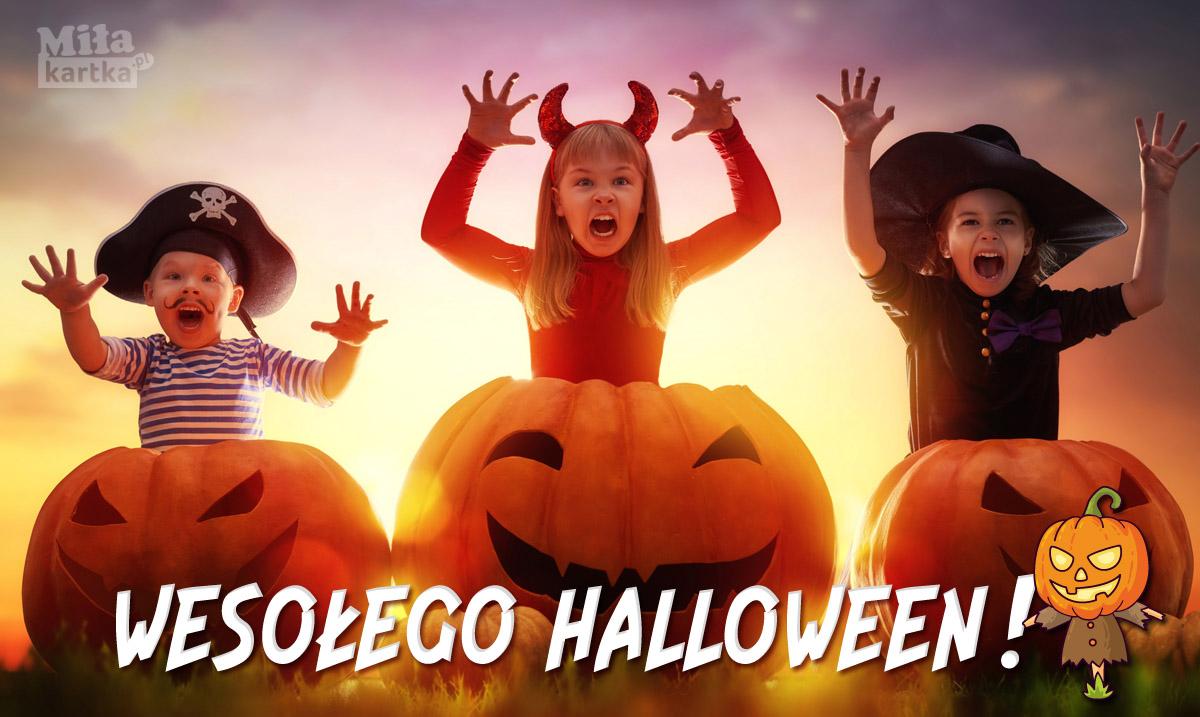Wesołego Halloween! Boo!