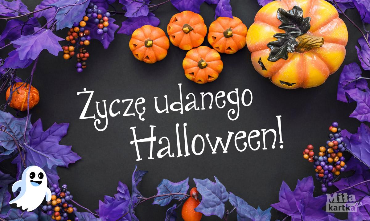Życzę udanego Halloween!