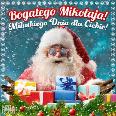 e kartki świąteczne na mikołaja