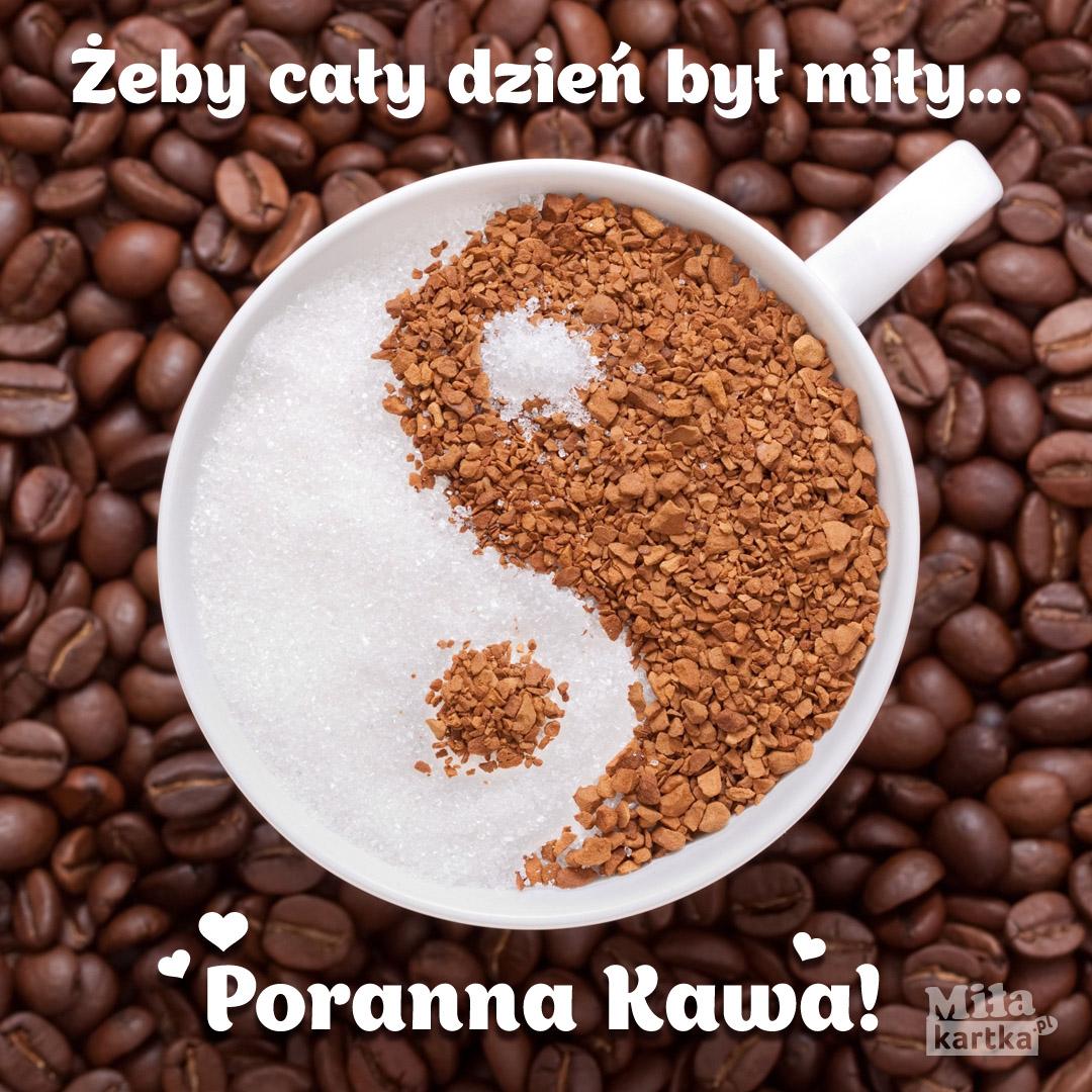 Kawa – żeby cały dzień był mily.