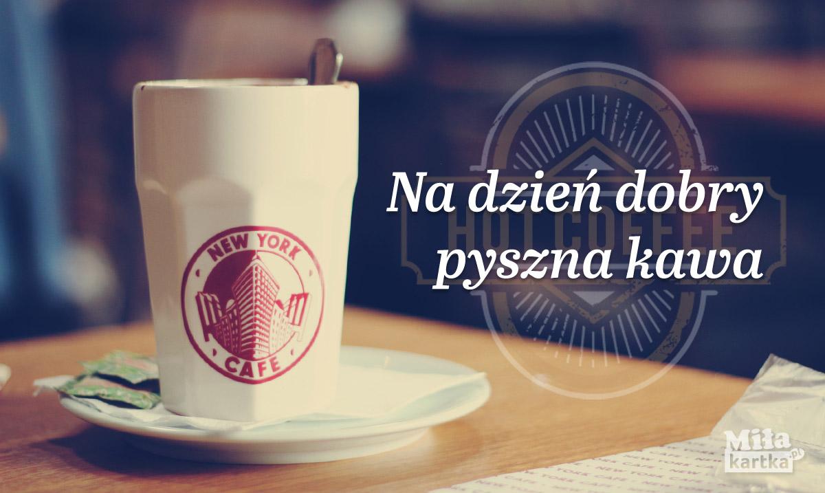 Na dzień dobry – pyszna kawa!