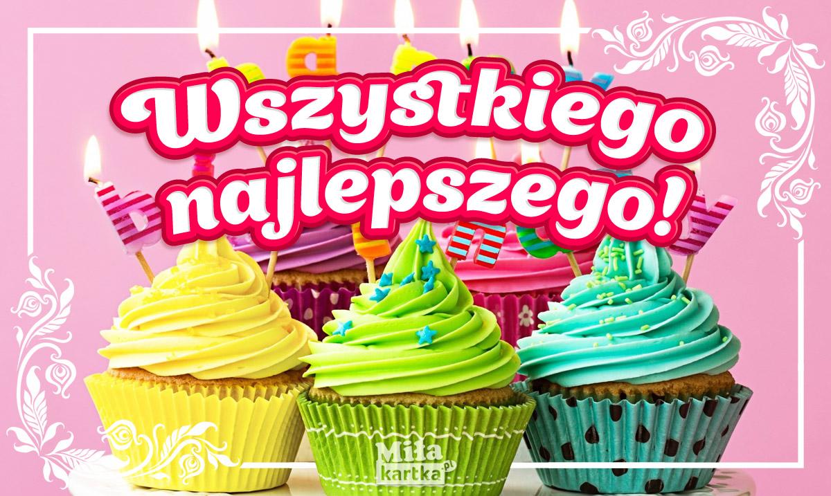 Kolorowe życzenia dla Ciebie!