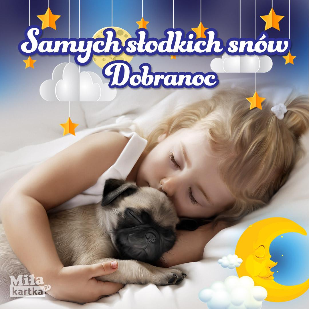 Dobranoc. Słodkich snów!
