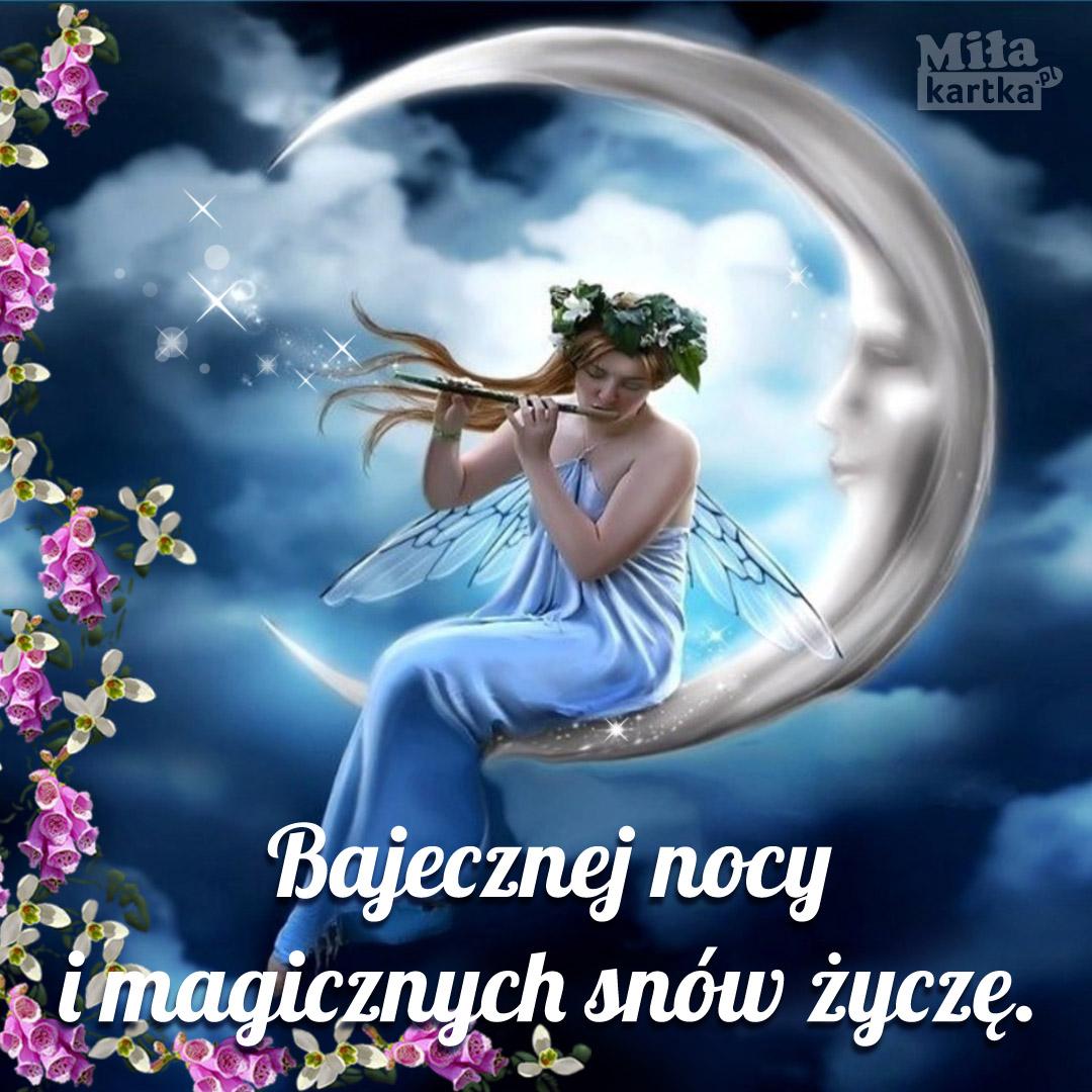 Bajecznej nocy, magicznych snów! ⋆ Na Dobranoc ⋆ E-kartki