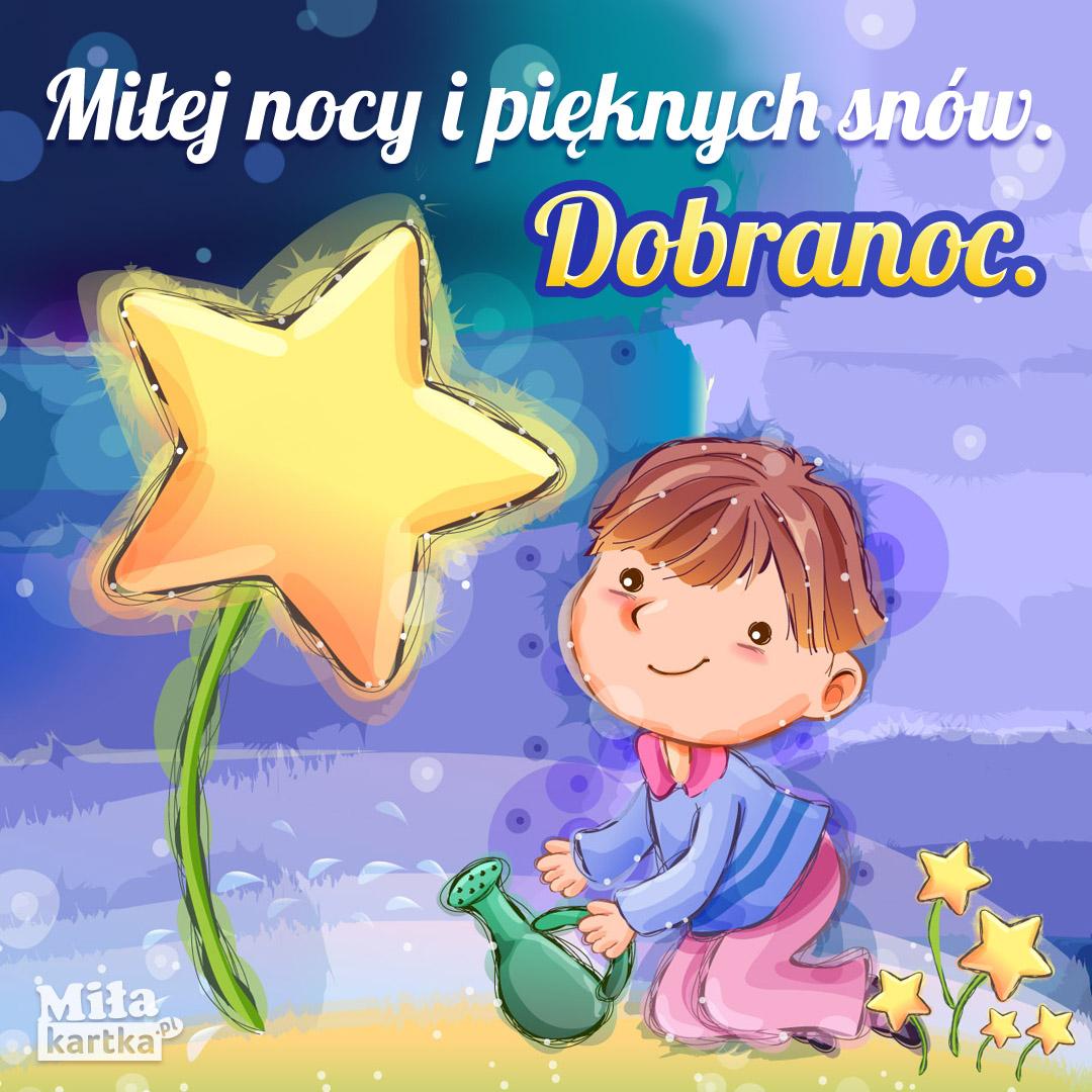 Pięknych snów miłej nocy