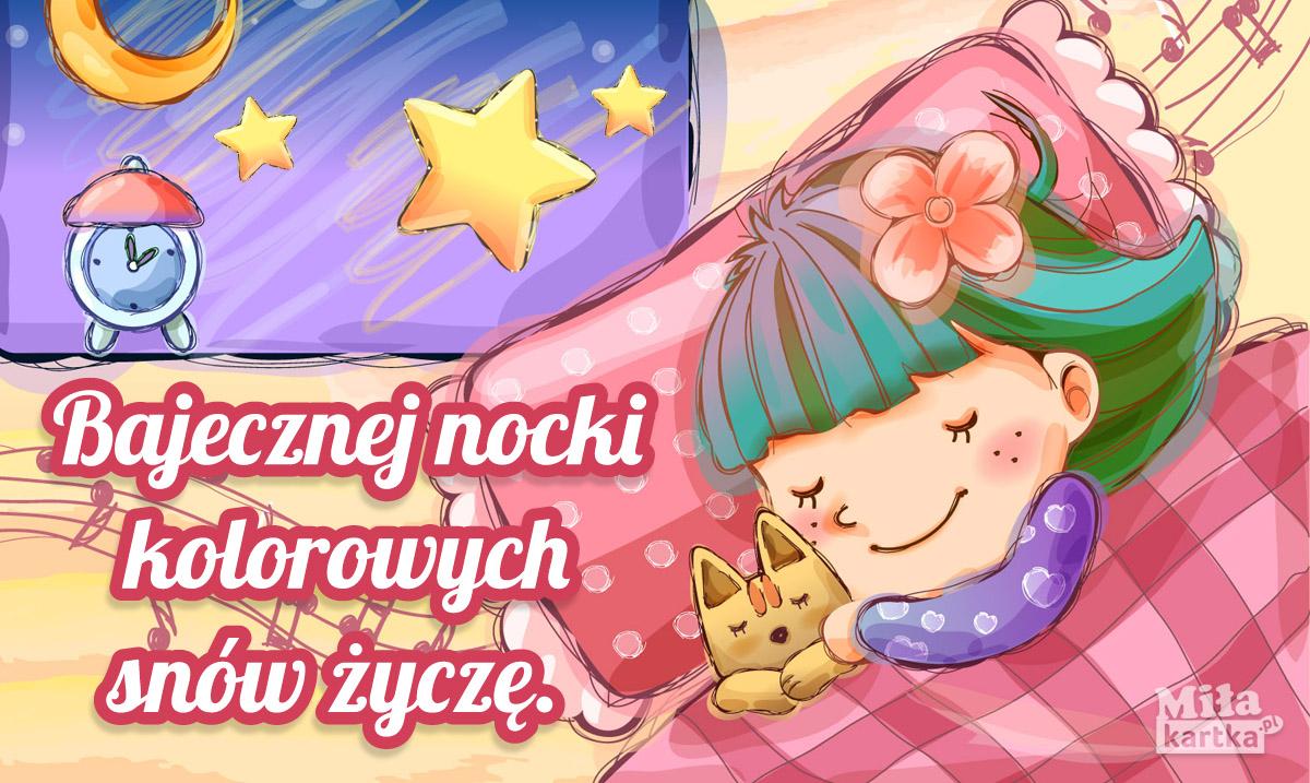 Bajecznej nocki życzę