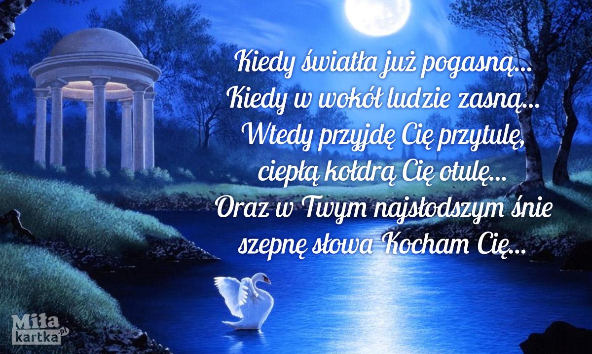 Wiersz miłosny na Dobranoc
