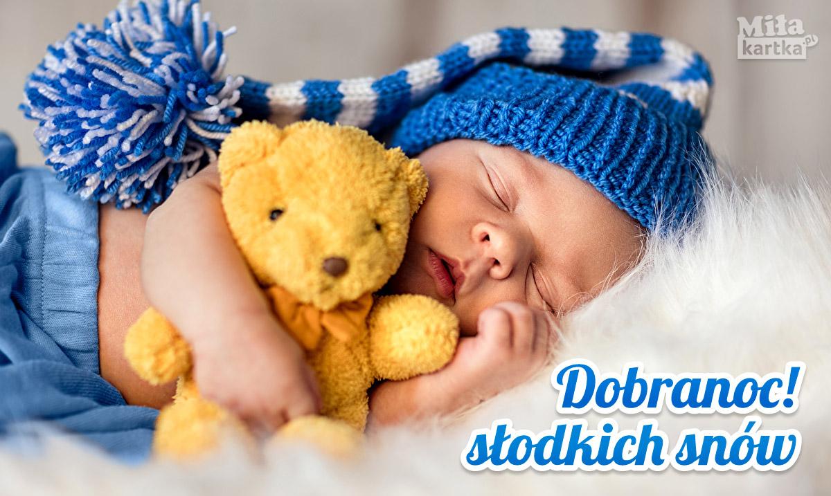 Na dobranoc! Słodkich snów!