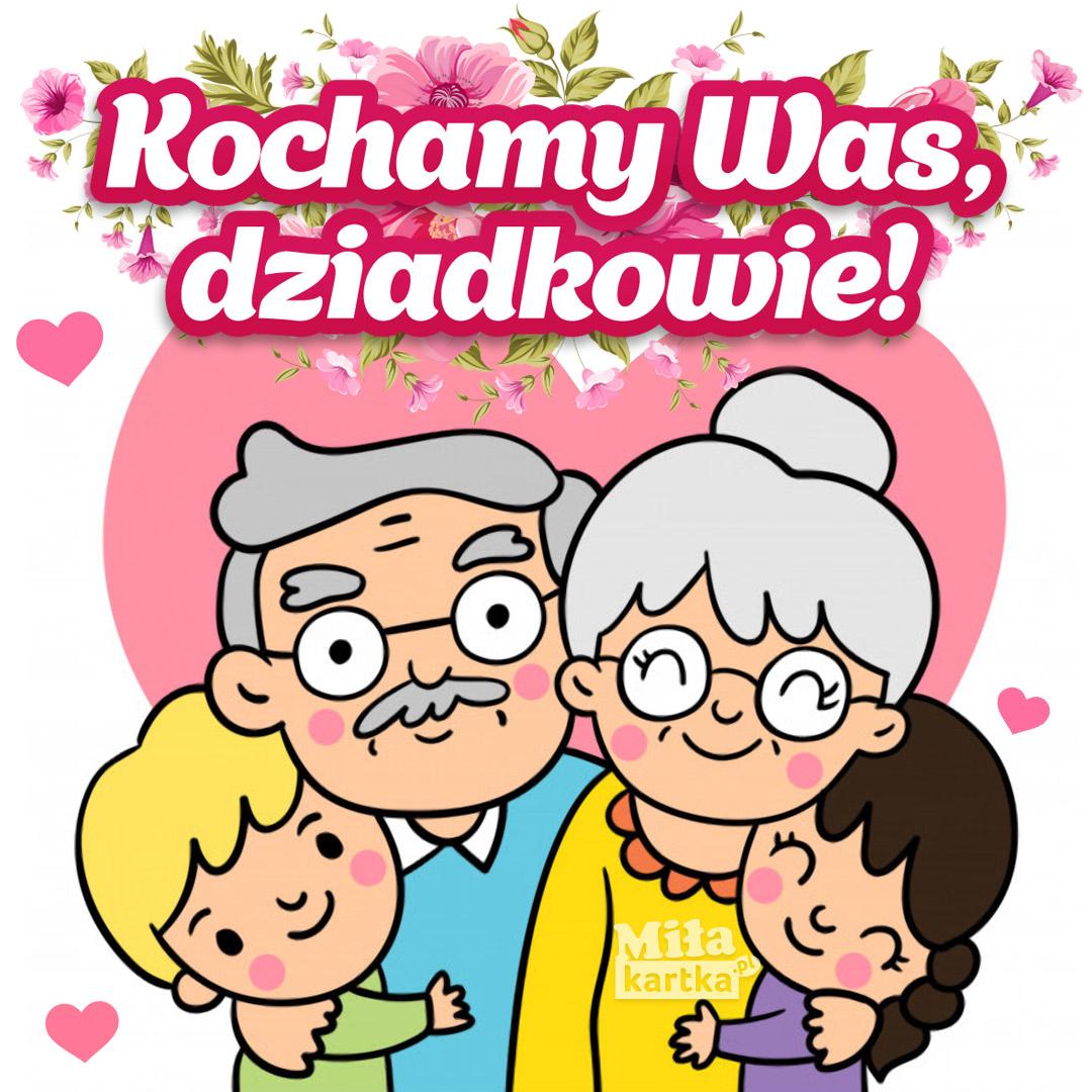 Nasi Kochani Babcia i Dziadek