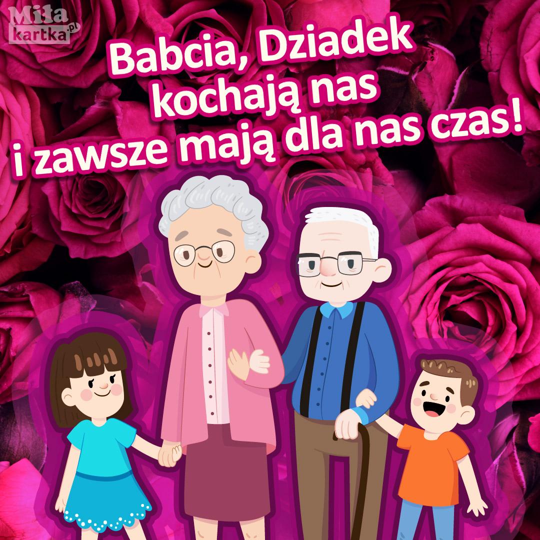 Babcia i Dziadek kochają nas