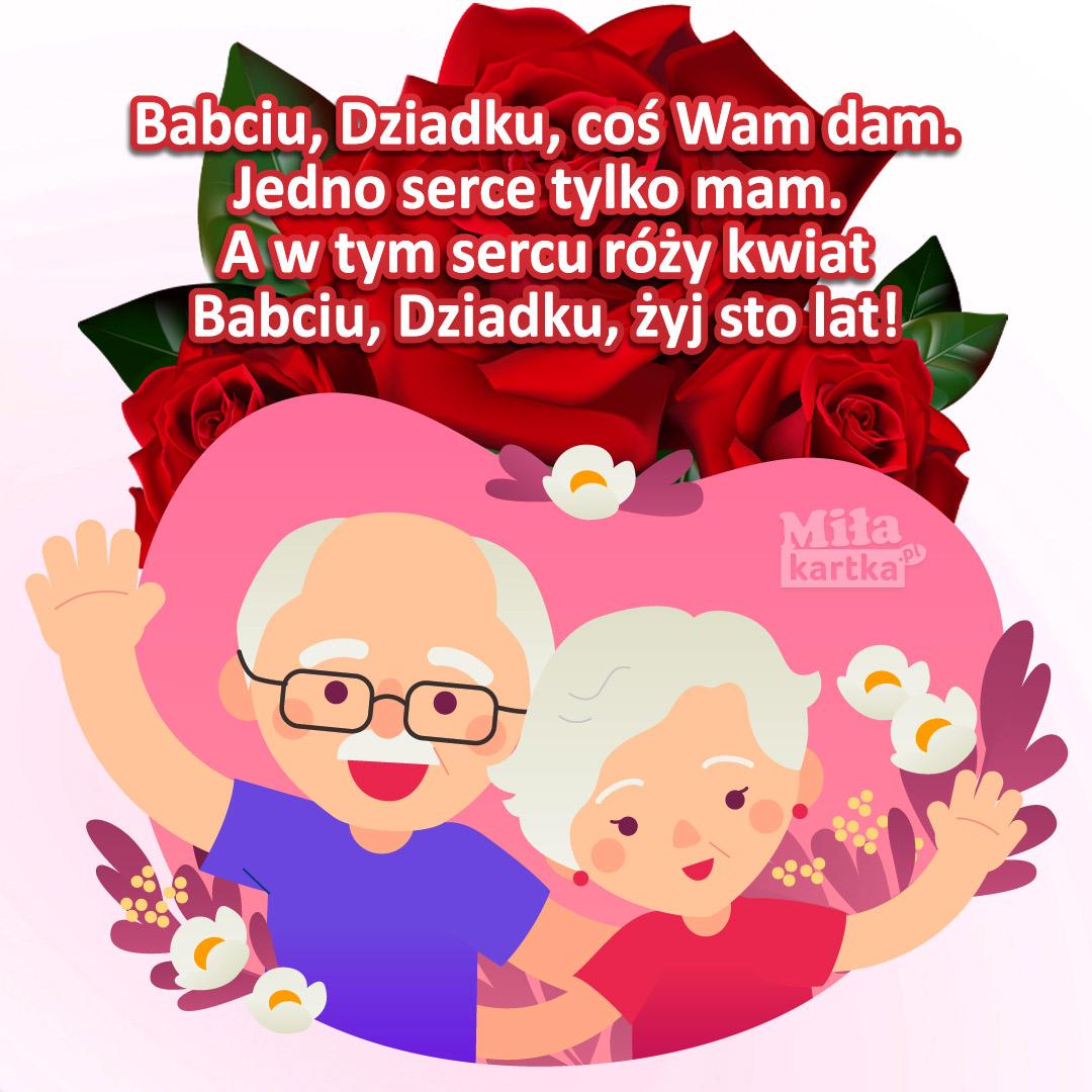 Babciu, Dziadku, coś Wam dam!