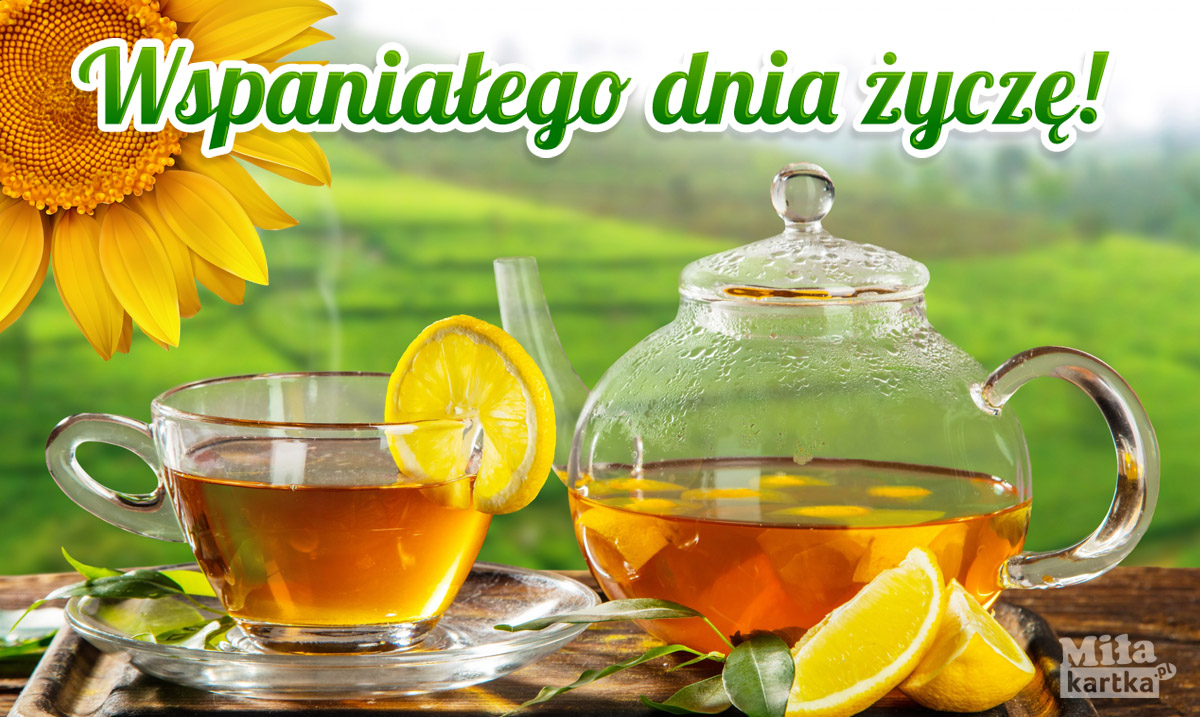 Herbata z limonką dla Ciebie