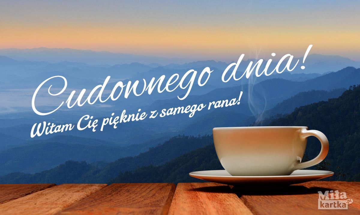 Kawa – witam z samego rana!