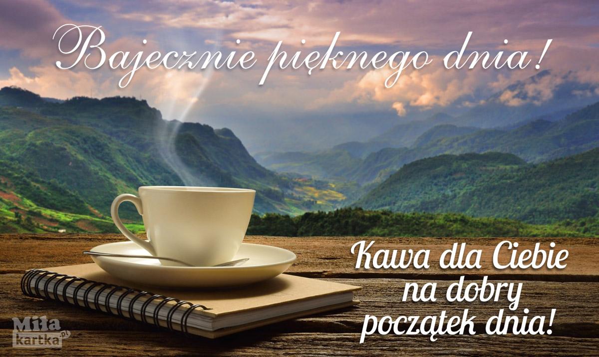 Kawa bajecznie pięknego dnia!