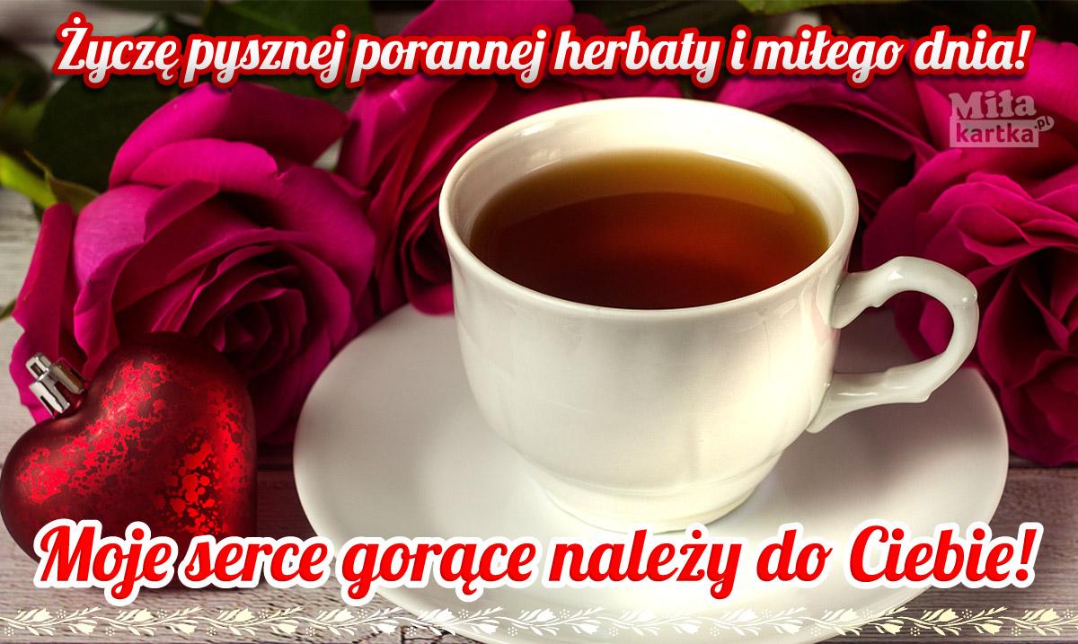 Pyszna poranna herbata dla Ciebie
