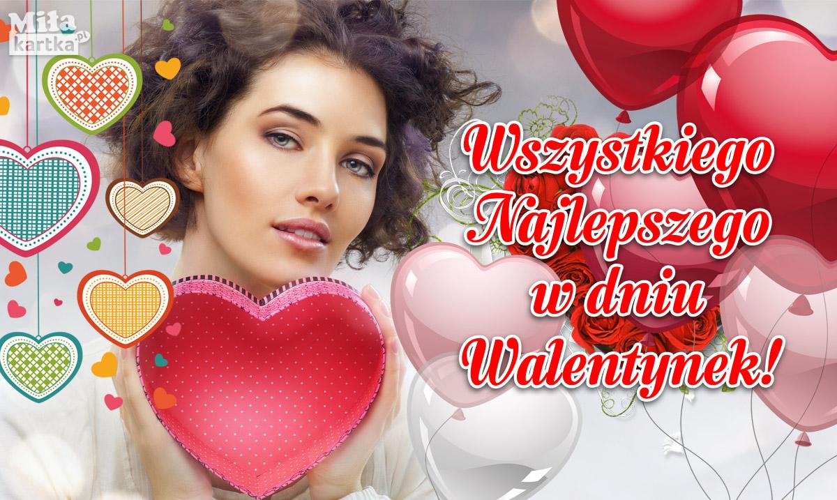 Najlepsze życzenia w dniu Walentynek