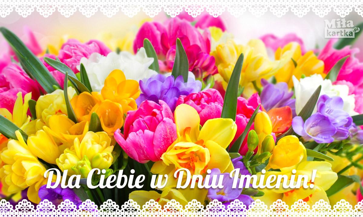 Dla Ciebie w dniu Imienin