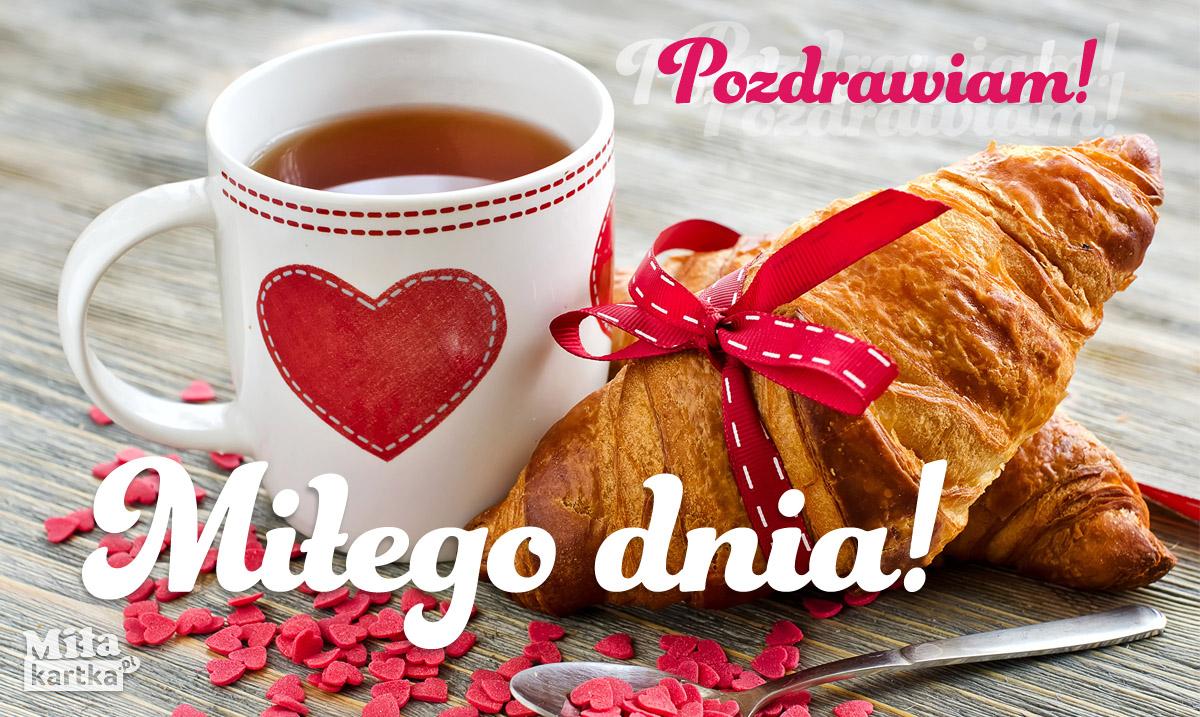 Herbata dla Ciebie. Miłego dnia!
