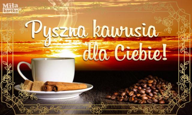 kawa miłego dnia
