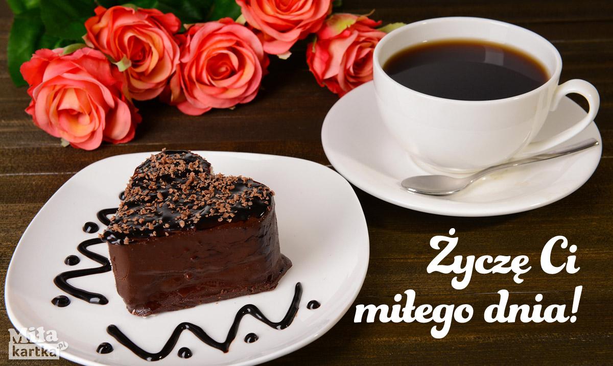 Życzę Ci miłego dnia! Kawa dla Ciebie!