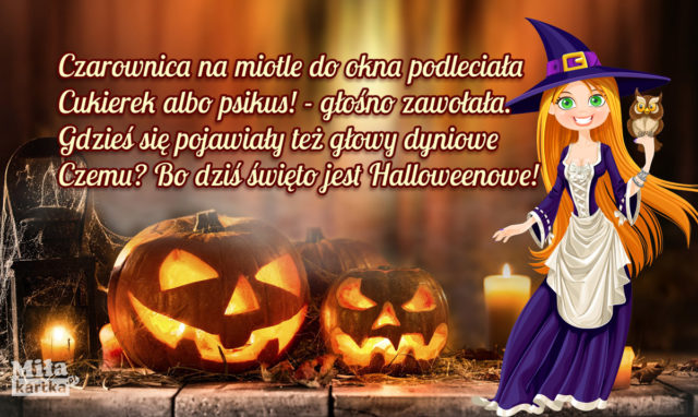 kartki na Halloween