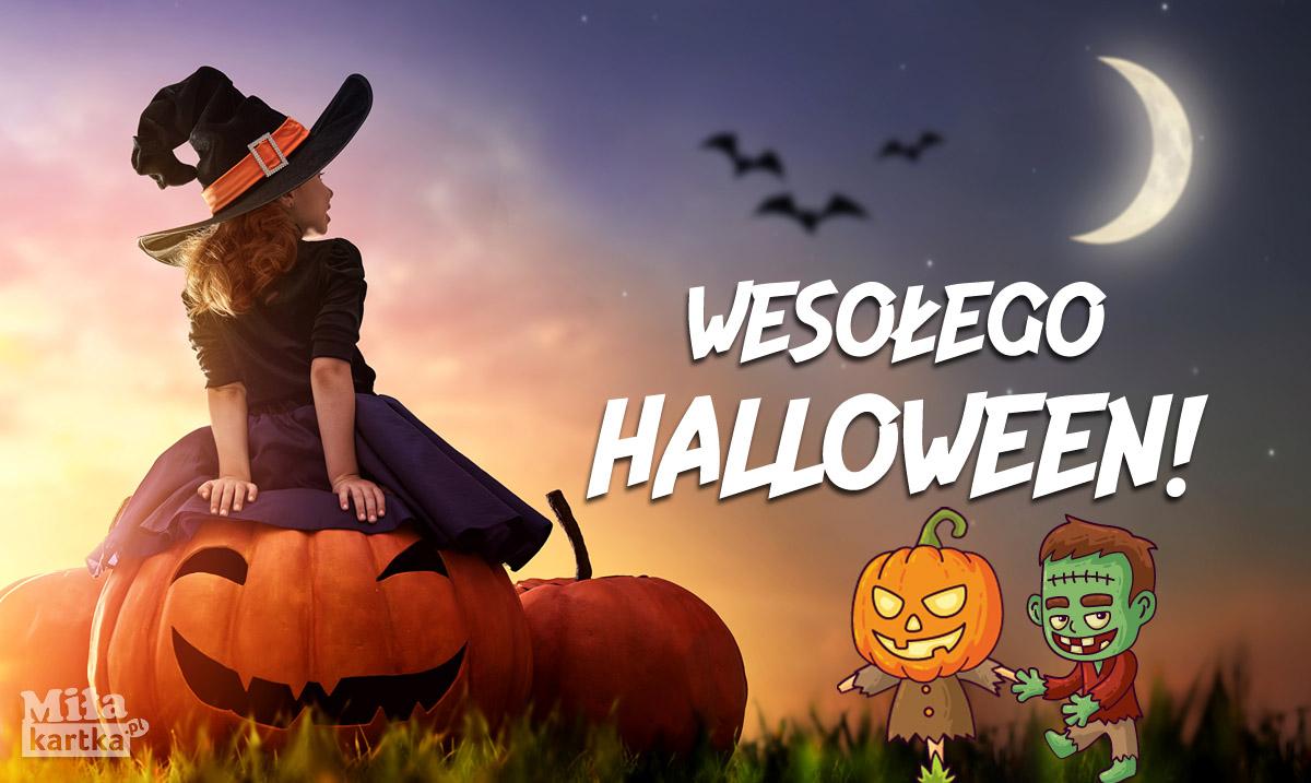 Wesołego Halloween kartka
