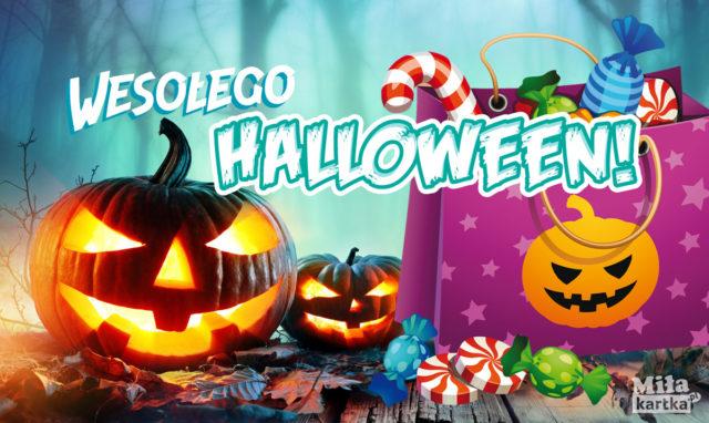 kartka halloweenowa