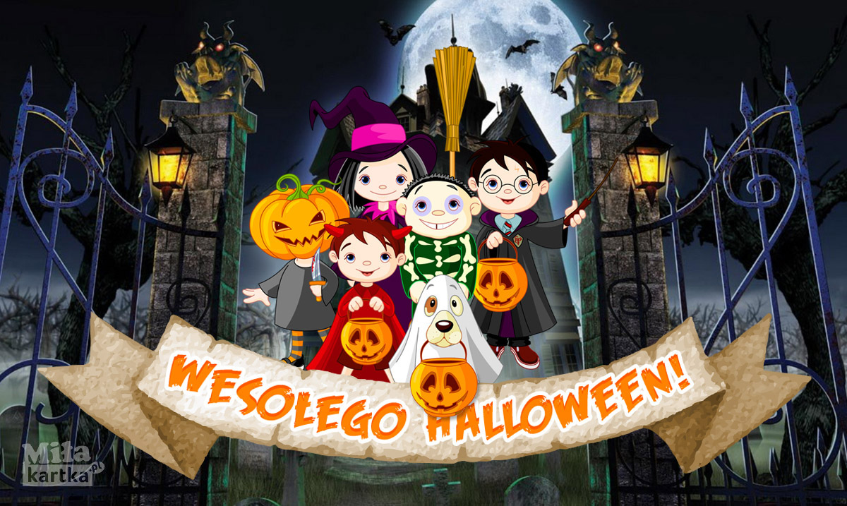 Wesołej zabawy Halloween!