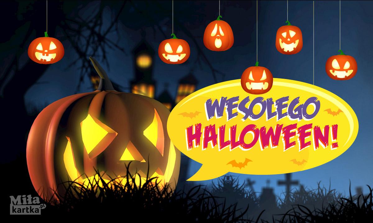 Wesołego Halloween – straszna Dynia!