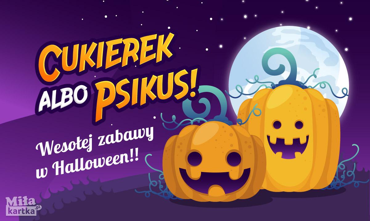Wesołej zabawy halloweenowej!