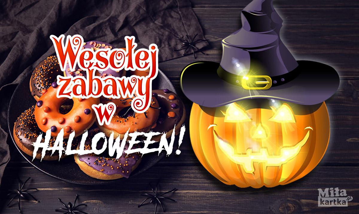 Z całego serca życzę Ci wesołego Halloween!