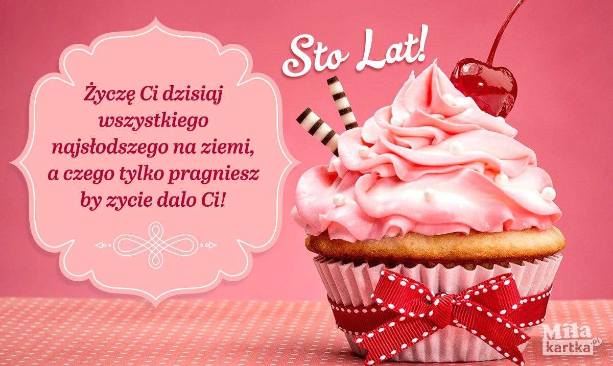 Życzę Ci wszystkiego najsłodszego!