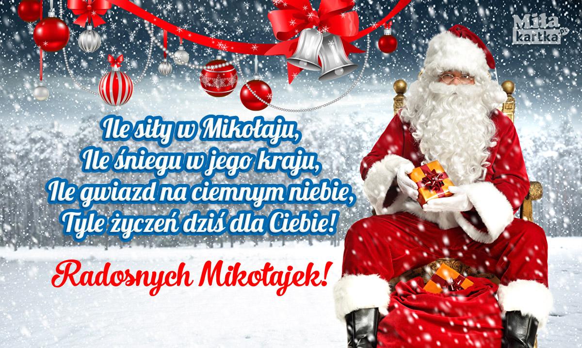 Radosnych Mikołajek! Życzenia dla Ciebie!