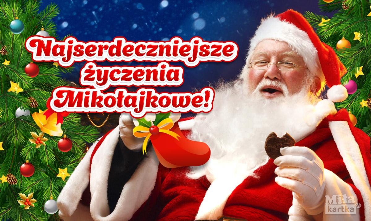Najserdeczniejsze życzenia Mikołajkowe!