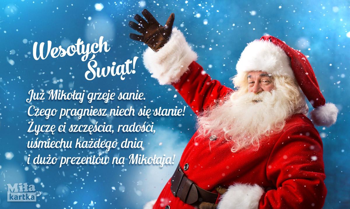 Św. Mikołaj już się śpieszy!