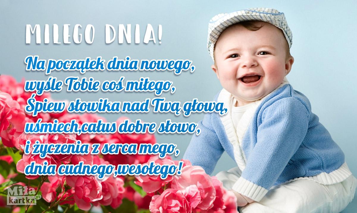 Na początek nowego dnia – najlepsze życzenia dla Ciebie!