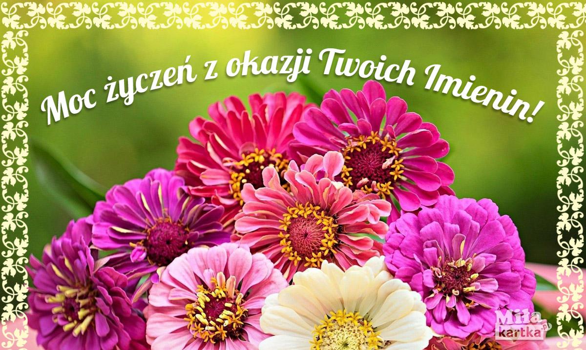 W dniu Imienin – kartka dla Ciebie!