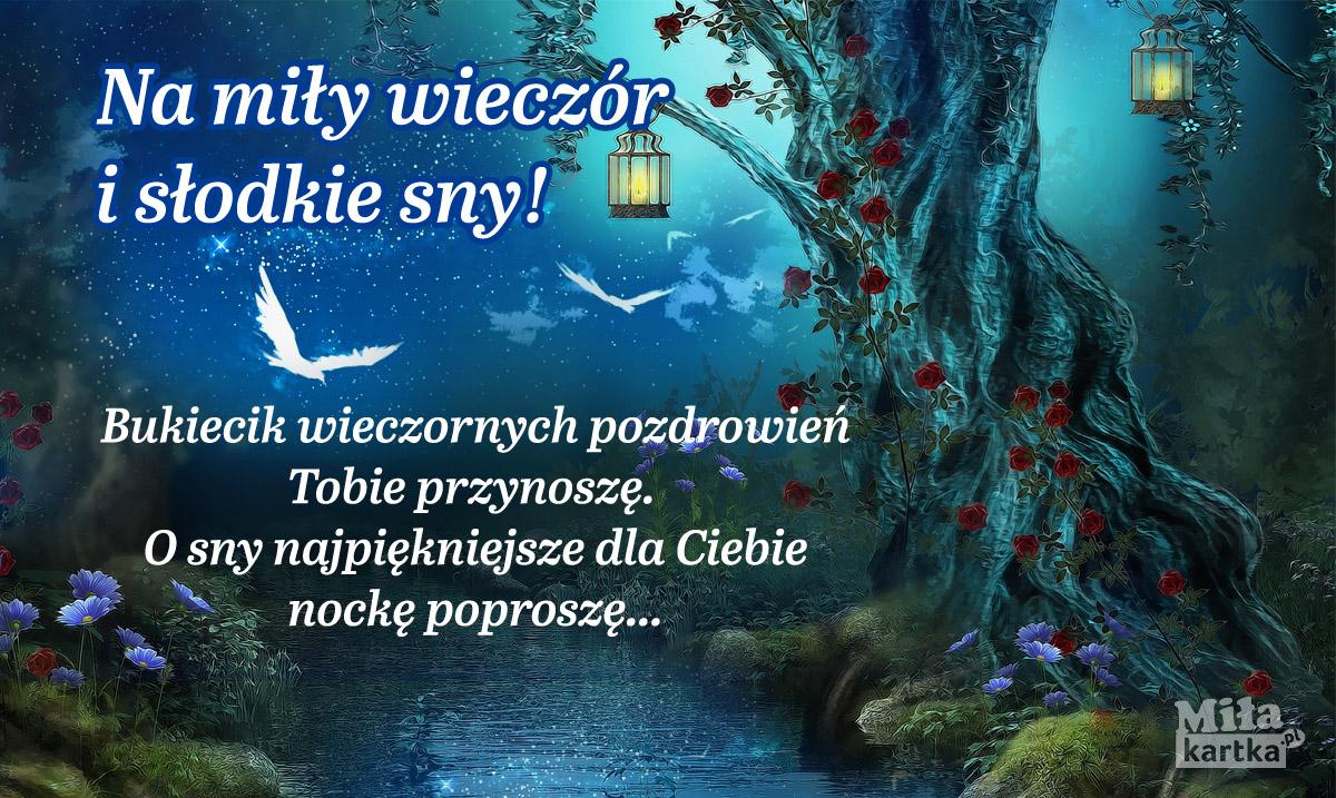 Na miły wieczór i słodkie sny!