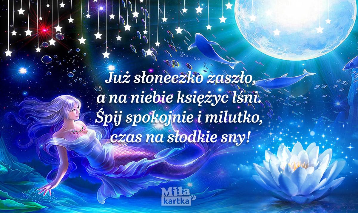 Zasypiaj z marzeniami, słodkich snów życzę!